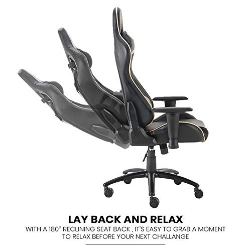 reflex in a gaming chair