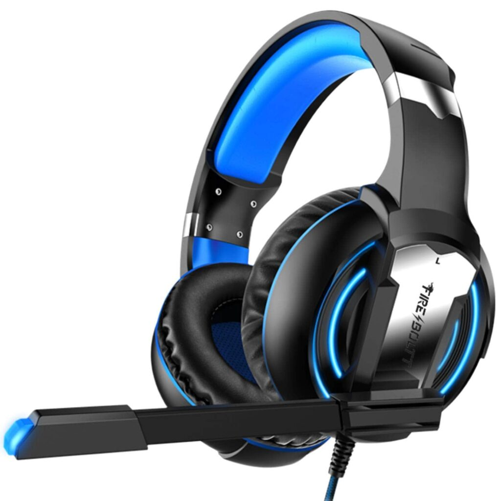 over ear gaming headphone