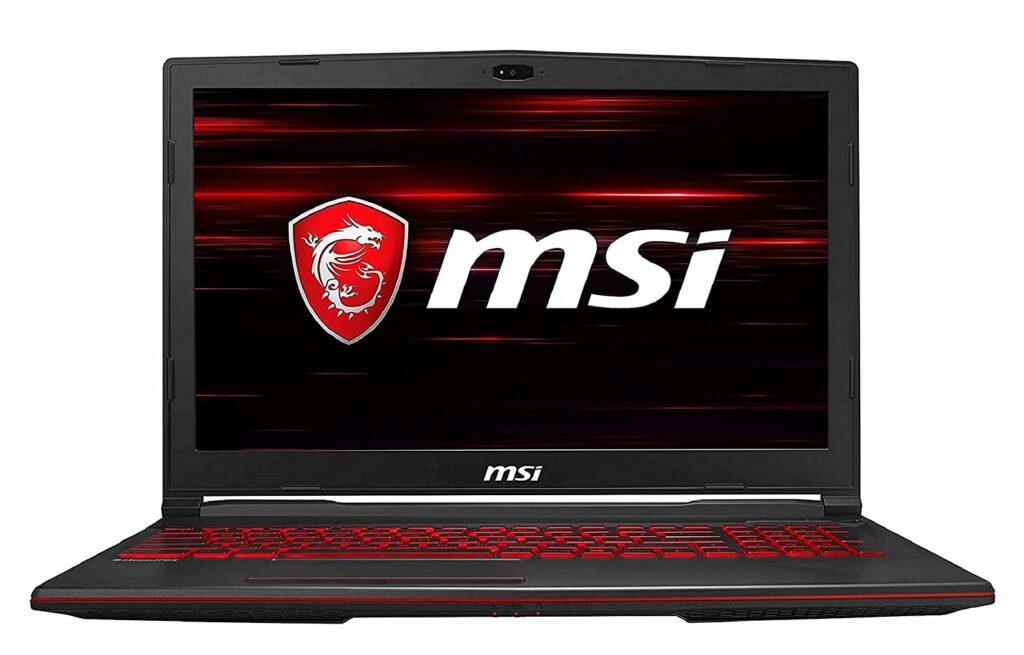 MSI laptop for pubg under 1 lakh