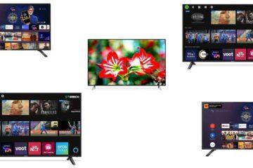 top 5 best smart TV under 20000