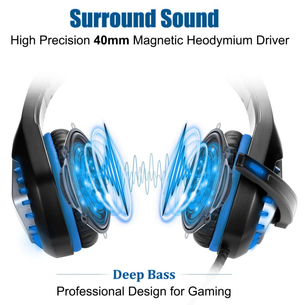 soft headphone for gamnig