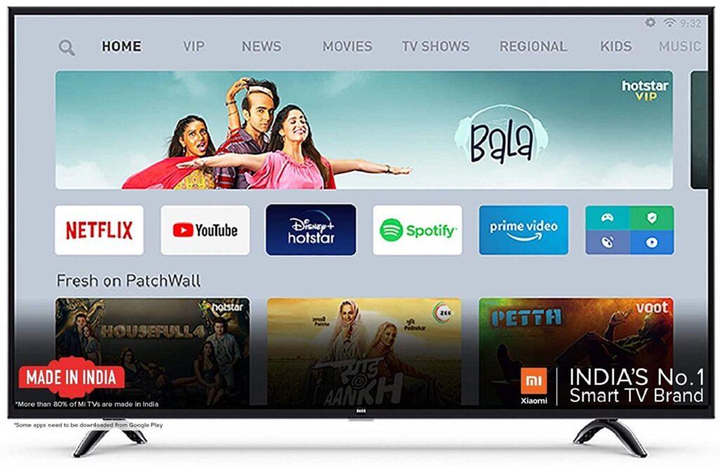 MI smart tv for home