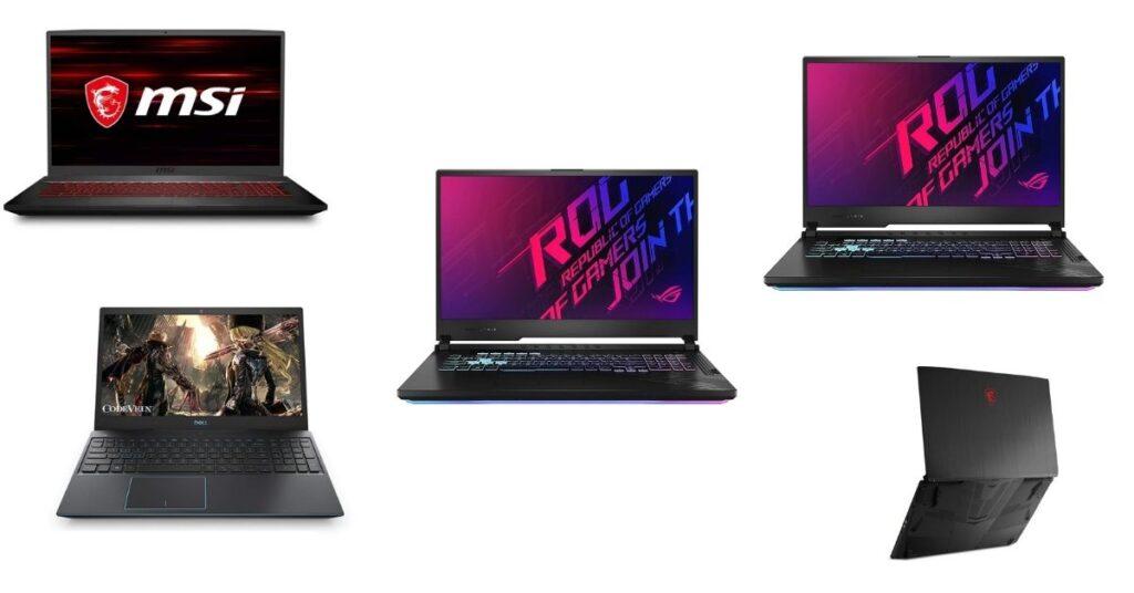 gaming laptops under 1 lakh