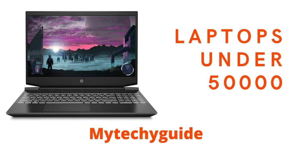 laptops under 50000 min